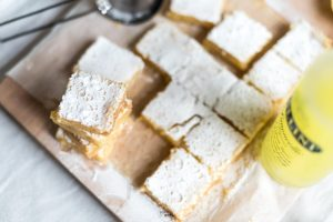 limoncello lemon bars