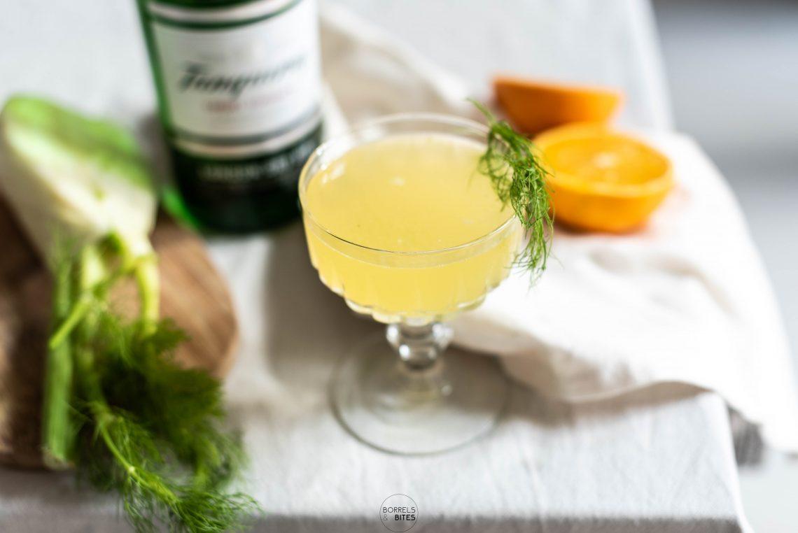 cocktail gin sinaasappel venkel